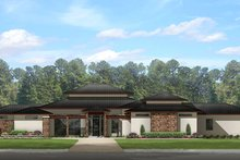 Dream House Plan - Prairie Exterior - Front Elevation Plan #1058-150
