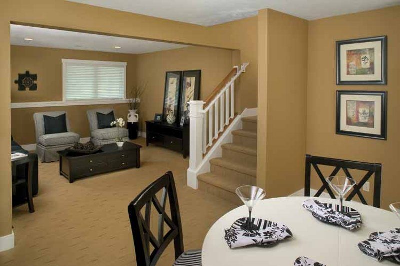 Traditional Interior - Dining Room Plan #928-115 - Houseplans.com