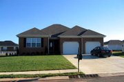 Traditional Style House Plan - 4 Beds 2 Baths 1716 Sq/Ft Plan #412-117