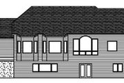 Craftsman Style House Plan - 3 Beds 2.5 Baths 2361 Sq/Ft Plan #51-258 Exterior - Rear Elevation