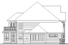 Dream House Plan - European Exterior - Other Elevation Plan #124-735