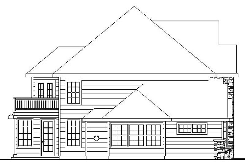 European Exterior - Other Elevation Plan #124-735 - Houseplans.com