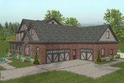 Craftsman Style House Plan - 4 Beds 4.5 Baths 2697 Sq/Ft Plan #56-586