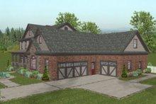 Craftsman Exterior - Other Elevation Plan #56-586