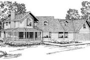 Traditional Style House Plan - 3 Beds 2.5 Baths 2625 Sq/Ft Plan #124-160 Exterior - Front Elevation