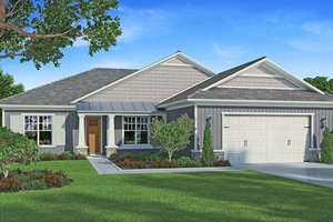 House Plan Design - Craftsman Exterior - Front Elevation Plan #938-95