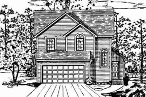 Traditional Exterior - Front Elevation Plan #405-143