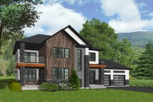 House Design - Modern Exterior - Front Elevation Plan #23-2309