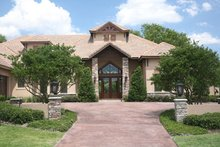 Contemporary Exterior - Front Elevation Plan #417-814