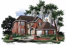 Traditional Exterior - Front Elevation Plan #952-8