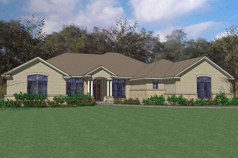 House Plan Design - European Exterior - Front Elevation Plan #120-230