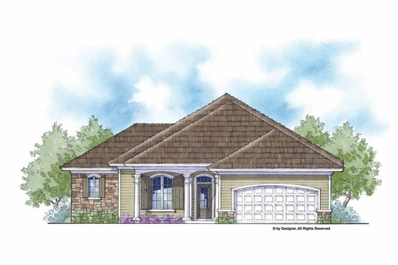 Country Exterior - Front Elevation Plan #938-30 - Houseplans.com