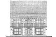 Farmhouse Style House Plan - 2 Beds 1 Baths 1270 Sq/Ft Plan #406-178 Exterior - Rear Elevation