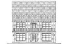 Farmhouse Exterior - Rear Elevation Plan #406-178