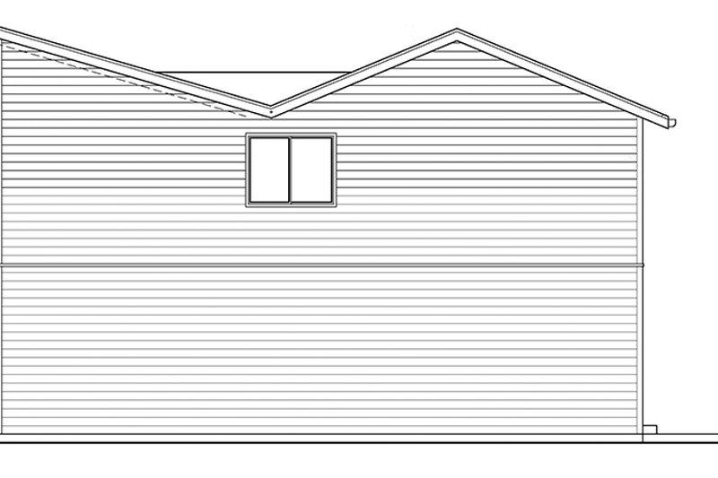 Contemporary Exterior - Other Elevation Plan #569-15 - Houseplans.com