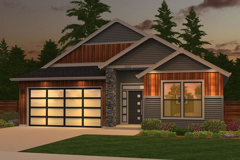 House Plan Design - Ranch Exterior - Front Elevation Plan #943-50