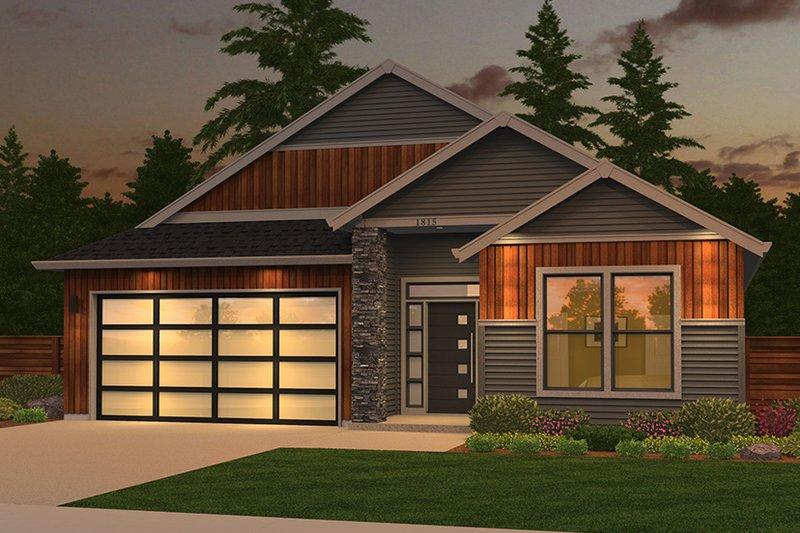House Design - Ranch Exterior - Front Elevation Plan #943-50