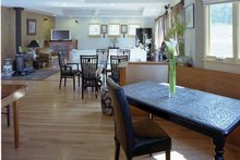 Architectural House Design - Craftsman Interior - Family Room Plan #939-9