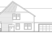 Craftsman Exterior - Other Elevation Plan #124-204