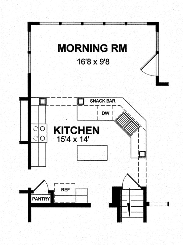 Colonial Floor Plan - Other Floor Plan Plan #316-291
