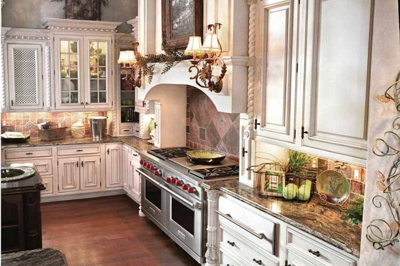 European Interior - Kitchen Plan #46-774 - Houseplans.com