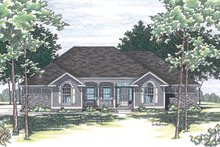 Traditional Exterior - Front Elevation Plan #20-2244