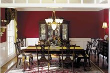 House Plan Design - Colonial Interior - Dining Room Plan #927-174