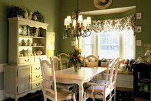 House Design - Country Interior - Dining Room Plan #927-781