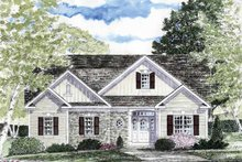 House Plan Design - Craftsman Exterior - Front Elevation Plan #316-263