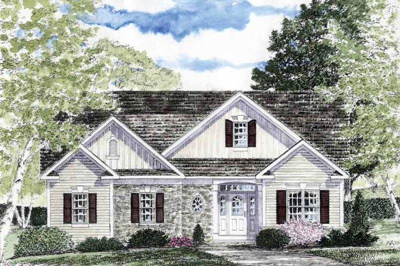 Craftsman Exterior - Front Elevation Plan #316-263 - Houseplans.com