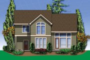 Craftsman Style House Plan - 3 Beds 2.5 Baths 2164 Sq/Ft Plan #48-109 Exterior - Rear Elevation