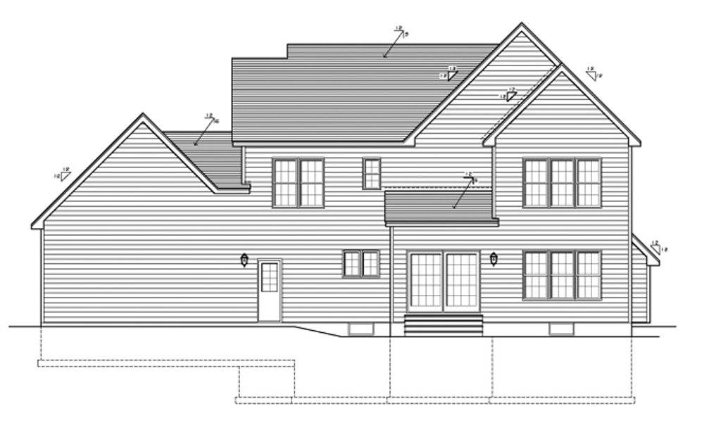 Country Style House Plan 4 Beds 2 5 Baths 2378 Sq Ft Plan 1010 89