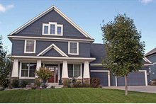 Country Exterior - Front Elevation Plan #51-1076