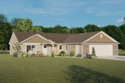 Ranch Style House Plan - 3 Beds 2 Baths 1743 Sq/Ft Plan #1064-46