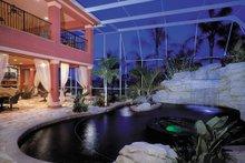 Architectural House Design - Mediterranean Exterior - Rear Elevation Plan #930-355