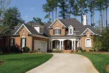 House Plan Design - Traditional Exterior - Front Elevation Plan #453-349