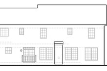 Traditional Exterior - Rear Elevation Plan #1053-55