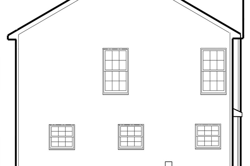 Traditional Exterior - Other Elevation Plan #1053-76 - Houseplans.com