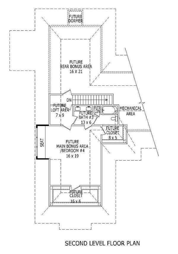 European Floor Plan - Other Floor Plan Plan #932-22