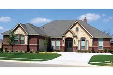 Traditional Exterior - Front Elevation Plan #84-707