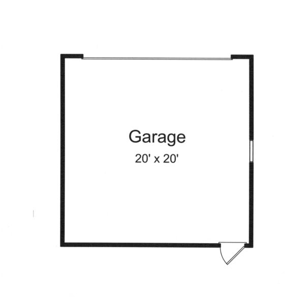 Craftsman Floor Plan - Other Floor Plan Plan #46-842