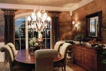 European Interior - Dining Room Plan #46-775