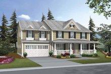 House Plan Design - Craftsman Exterior - Front Elevation Plan #132-378