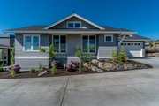 Craftsman Style House Plan - 2 Beds 2 Baths 1230 Sq/Ft Plan #895-57 Exterior - Other Elevation