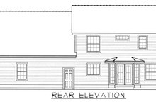 Farmhouse Exterior - Rear Elevation Plan #112-165