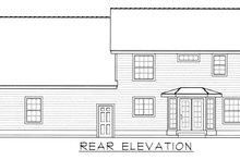 Architectural House Design - Farmhouse Exterior - Rear Elevation Plan #112-165