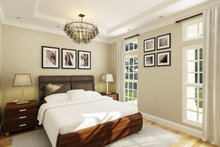 Architectural House Design - Cottage Interior - Master Bedroom Plan #45-595