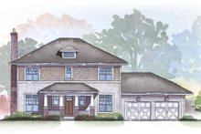 Home Plan - Traditional Exterior - Front Elevation Plan #901-24