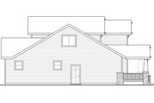 Dream House Plan - Craftsman Exterior - Other Elevation Plan #124-1210