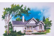 House Plan Design - Ranch Exterior - Front Elevation Plan #929-230